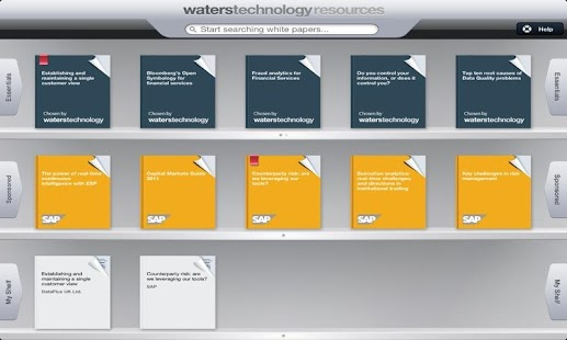 WatersTechnology Resources IT - screenshot thumbnail