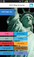 Screenshot of New York State Offline Map
