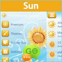 GO SMS Sun icon