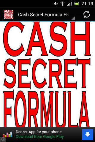 Cash Secret Formula FREE