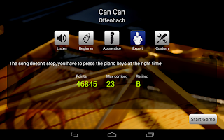Screenshot of Piano Master