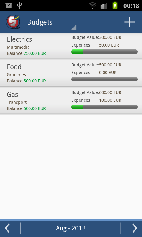 SQ Money Lite - screenshot