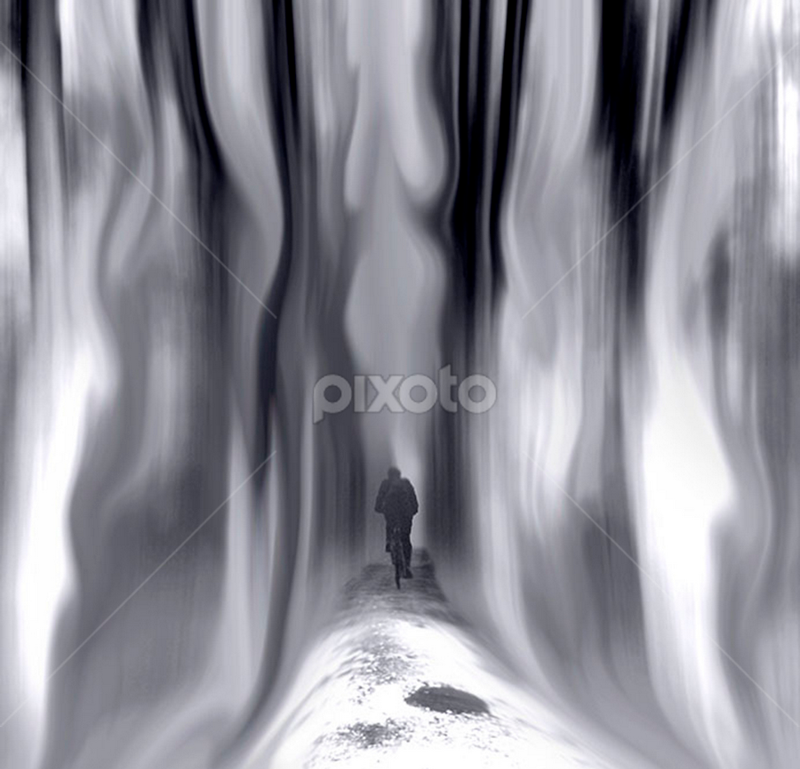 by Laimonas Šepetys - Digital Art Abstract ( , path, nature, landscape )