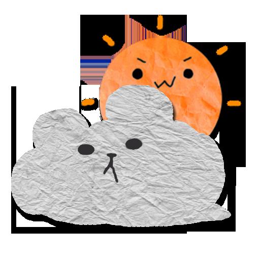 くまくも天気予報 LOGO-APP點子