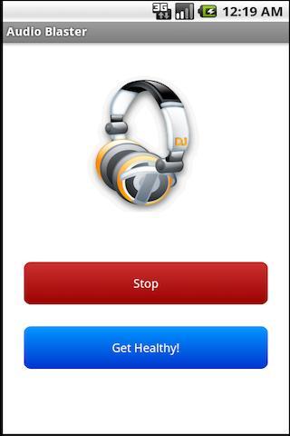 Audio Blaster Prank- screenshot