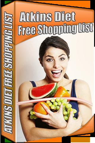 Atkins Diet Free Shopping List