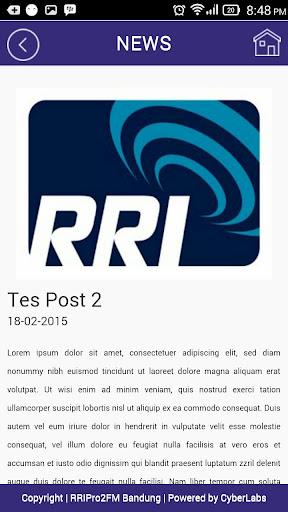 RRI Pro 2FM Bandung