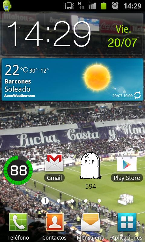 Mi Prima de Riesgo Española - screenshot