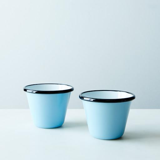 Porcelain Enamelware Cups