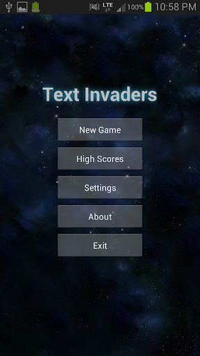 Text Invaders
