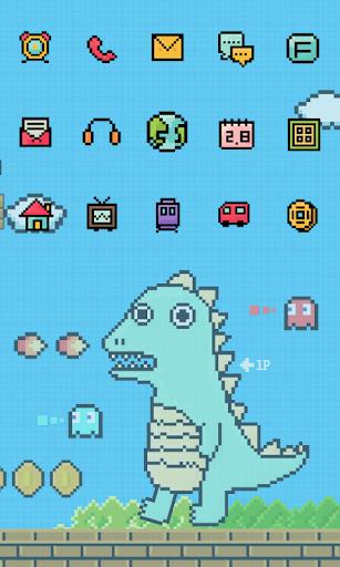 Yong Yong Pixel icon Theme