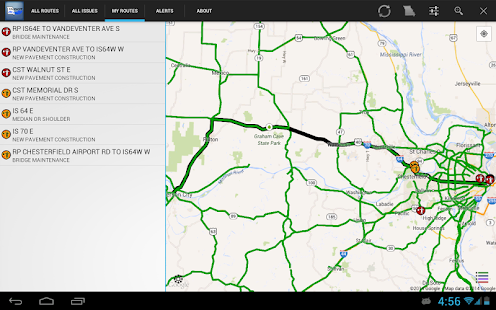 MoDOT Traveler Information - screenshot thumbnail