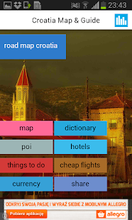 Croatia Offline Map Weather Android Apps On Google Play - Us road map offline