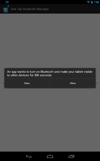 【免費通訊App】One Tap Bluetooth Manager-APP點子