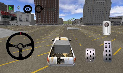 Pickup Car Simulator 3D 2014