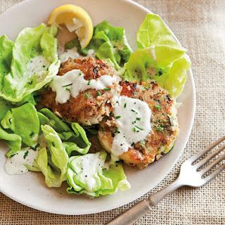 Crab Cake & Butter Lettuce Salad