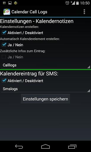 【免費生產應用App】Calendar call / sms logs-APP點子