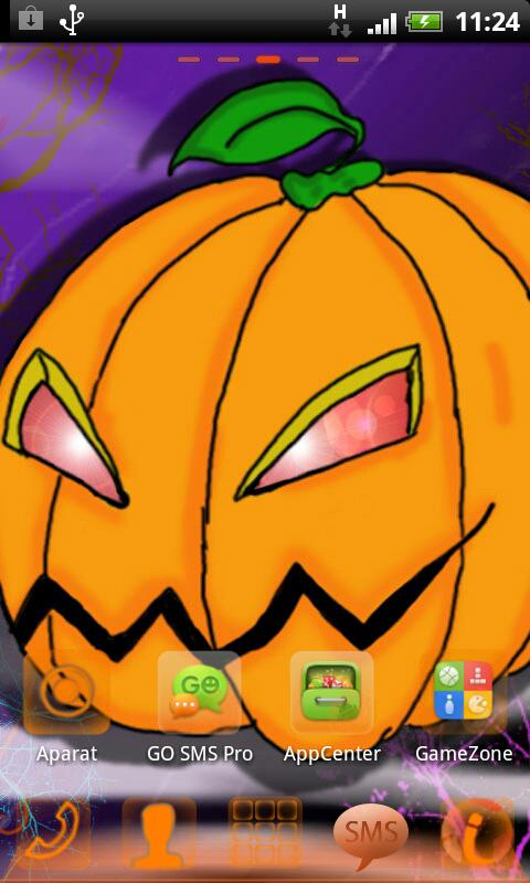 GO Launcher EX Halloween - screenshot