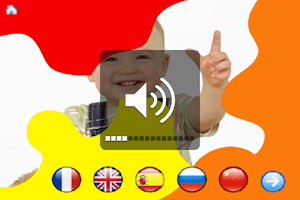 Screenshot of Baby discovers languages