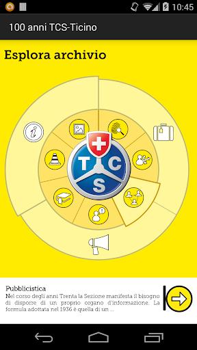 100 anni TCS-Ticino