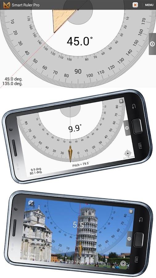 Smart Ruler Pro- screenshot