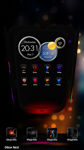 Next Launcher Theme MagicMix v1.0