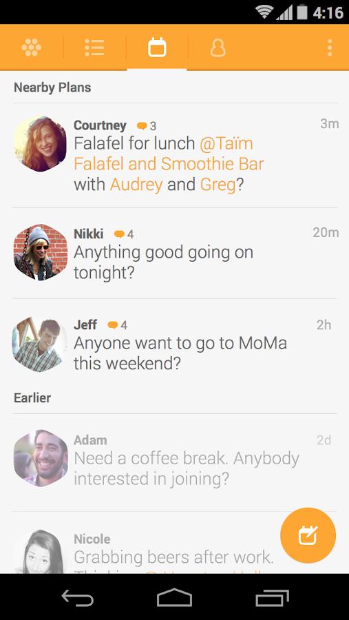 Swarm by Foursquare - screenshot