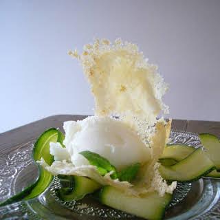 Very Fresh Lemon / Basil Sorbet.