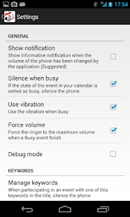 Calendar Ringtone Sinchronizer - screenshot thumbnail