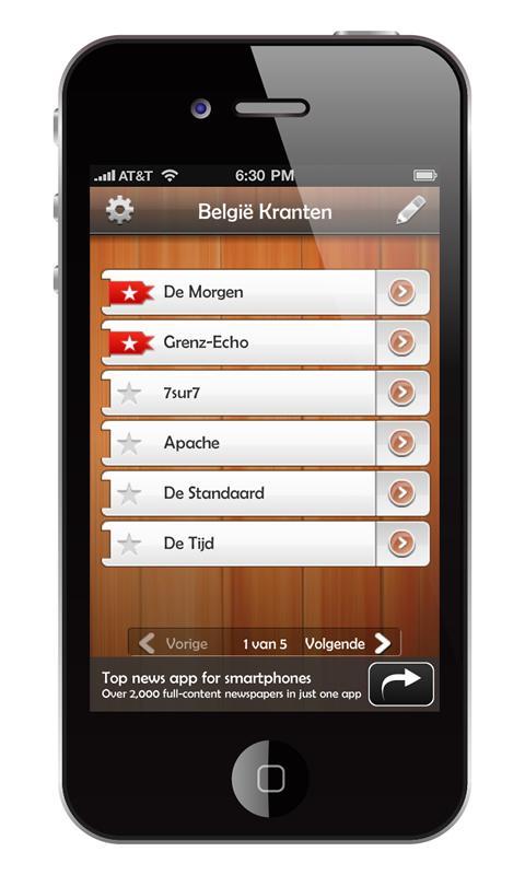België Kranten (België nieuws)- screenshot