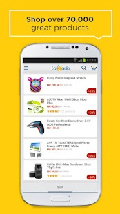 Lazada App for Android - screenshot thumbnail