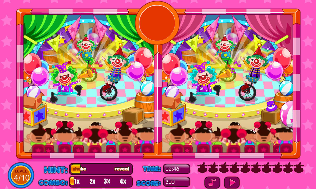 Spot the differences circus – Android Apps on Google Play