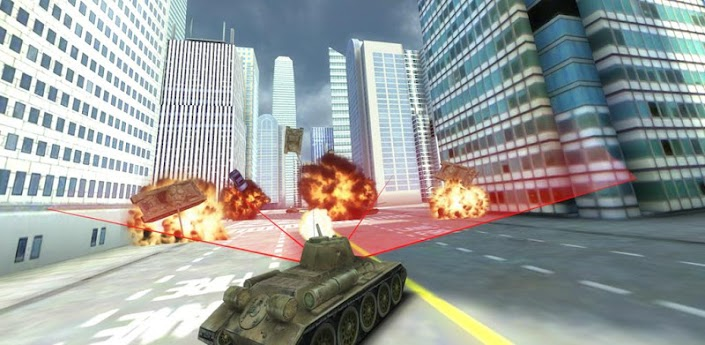GTA Tank vs New York - ГТА танк против Нью-Йорка