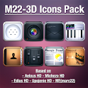 LauncherPro+ M22-3D Icons Pack logo