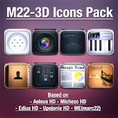 LauncherPro+ M22-3D Icons Pack