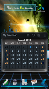 Next Calendar Widget - screenshot thumbnail