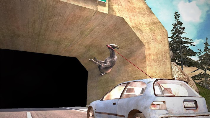 Goat Simulator - screenshot