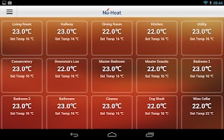 Screenshot of Nu-Heat