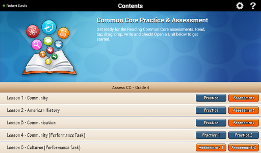 Reading Practice Assess G4