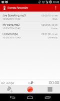 Screenshot of Events Recorder-Free