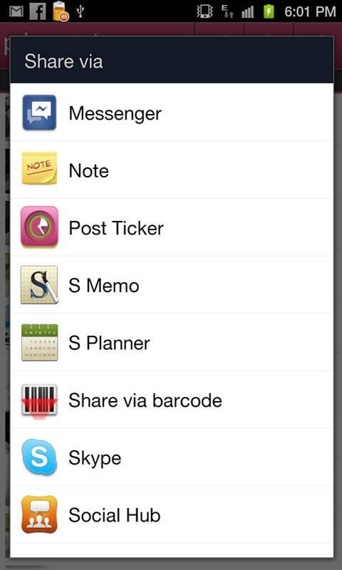 Post Ticker- screenshot