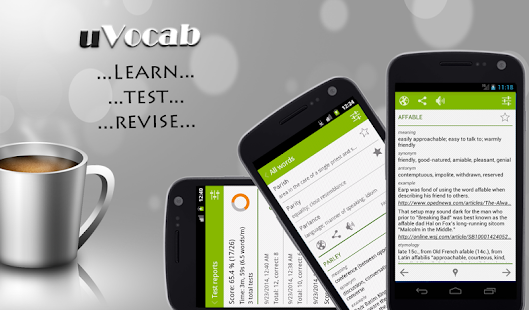 uVocab - Vocabulary Trainer- screenshot thumbnail