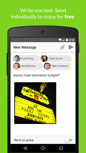 TextUp - Stop Group Texting