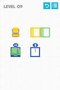 Color Parking - about squares- screenshot thumbnail