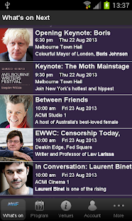 Melbourne Writers Festival - screenshot thumbnail