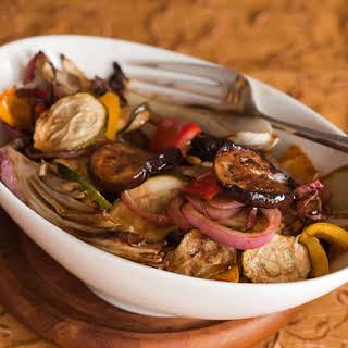 Balsamic Mixed Vegetable Roast.