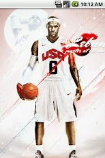 LeBron James Live Wallpaper Android Personalization