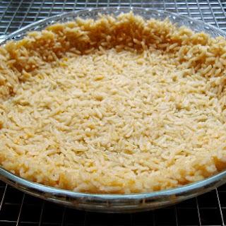 Brown Rice Pie Crust.
