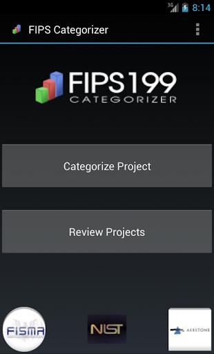 FIPS199 Categorizer