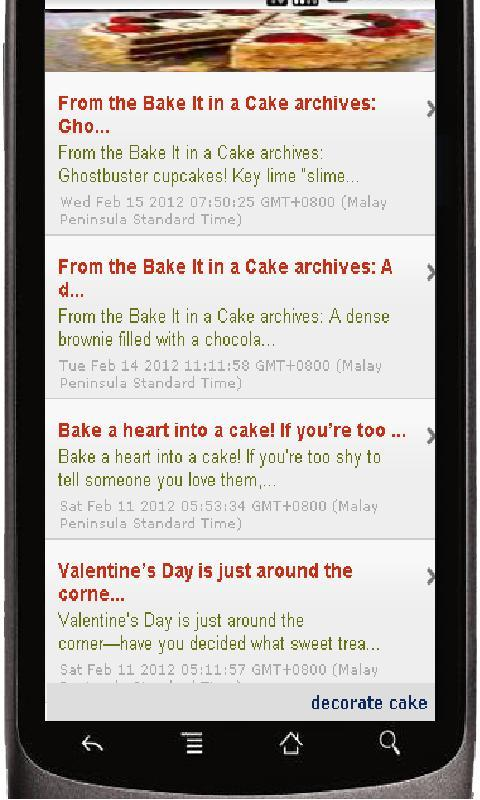 Bake Cake - screenshot